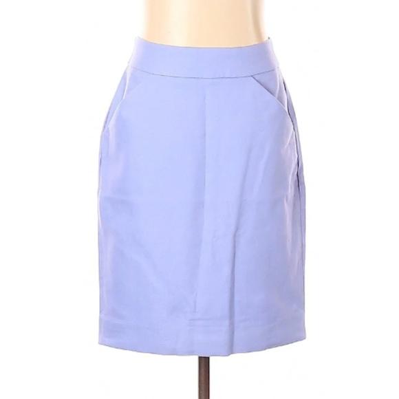 "J. Crew Dresses & Skirts - J Crew Periwinkle ""The Pencil Skirt"""